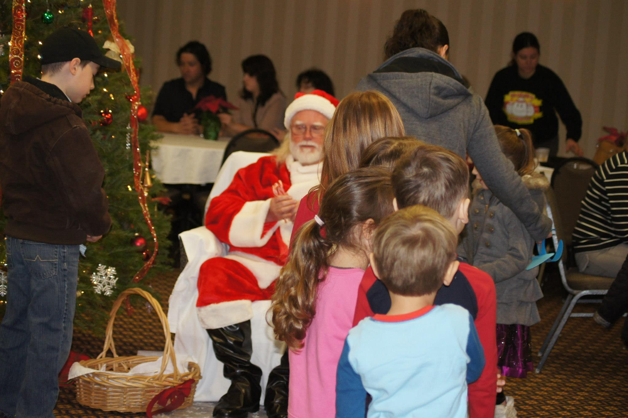 The Fun The Entire Family Can Enjoy A Hot Breakfast Buffet Visit With Santa Claus Dont Forget Your Wish List Ride The Toys For Tots Train Outside